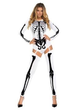 Disfraz de Mujer Malo al Hueso Blanco 1