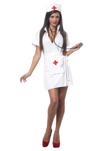 Disfraz de enfermera de moda talla extra