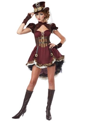 Disfraz de chica Steampunk talla extra