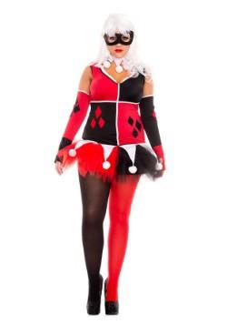 Disfraz para mujer bufón Harley talla extra