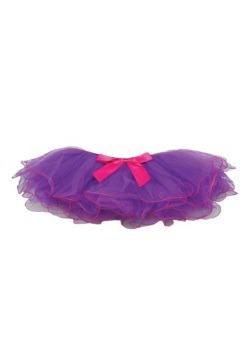 Tutú bicolor púrpura y fucsia  para niños