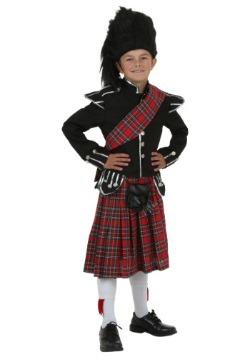 Disfraz infantil escocés