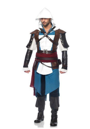 Disfraz de Assassins Creed Edward Deluxe