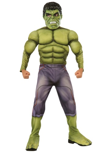 Disfraz infantil deluxe de Hulk Vengadores 2