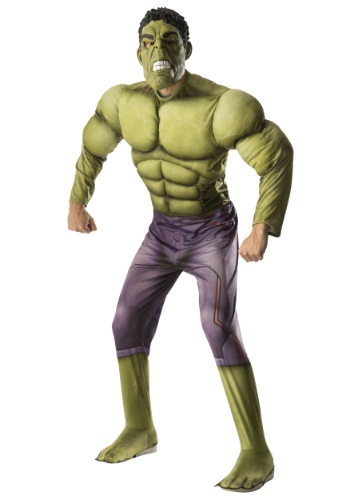 Disfraz de Hulk Avengers 2 deluxe para adulto