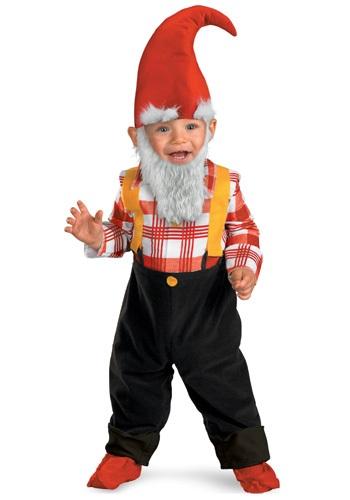 Disfraz de gnomo de jardín para niños pequeños