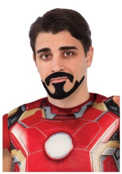 Bigote y barba de Tony Stark Iron Man