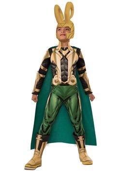 Disfraz infantil deluxe de Loki