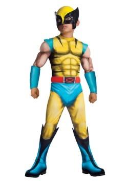 Disfraz infantil deluxe de Wolverine