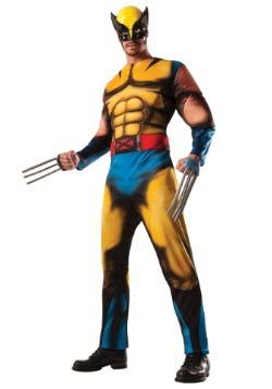 Disfraz de Wolverine deluxe para adulto
