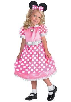 Disfraz rosa de Minnie Mouse