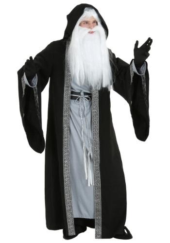 Disfraz de mago deluxe talla extra