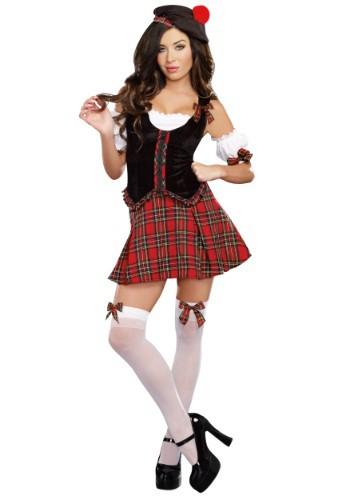 Disfraz escocés para mujer Scotty Hotty