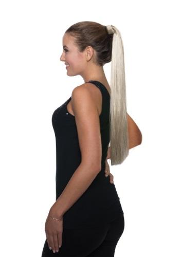Clip para cola de caballo de pelo rubio