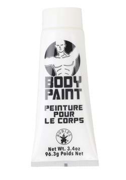 Pintura para cuerpo blanca