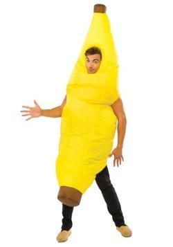 Disfraz de plátano inflable para adulto