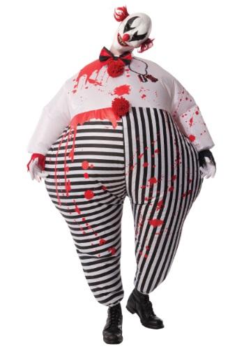 Disfraz de payaso malvado inflable para adulto