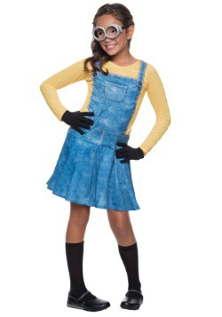 Disfraz infantil de Minion femenino