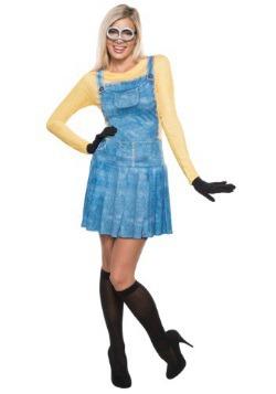 Disfraz de mujer Minion para adulto