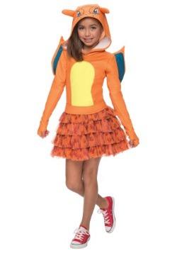 Disfraz de Charizard de Pokémon para niñas