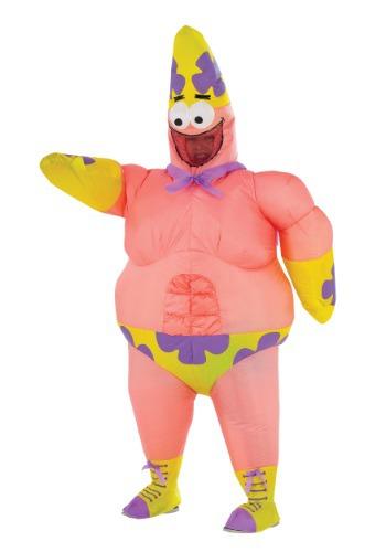 Disfraz de película Patrick Star inflable para adulto