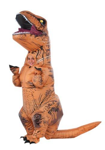 Disfraz infantil inflable de T-Rex de Jurassic World