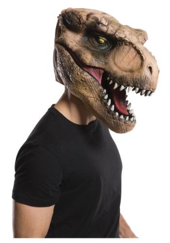 Máscara de T-Rex de Jurassic World deluxe para adulto