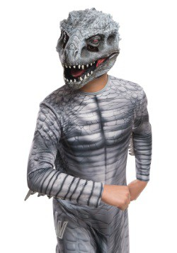 Máscara infantil 3/4 de dinosaurio de Jurassic World