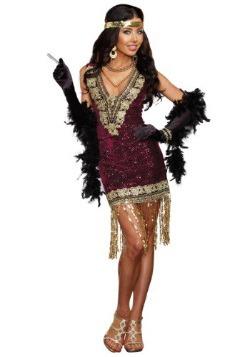 Disfraz de mujer sofisticada estilo flapper