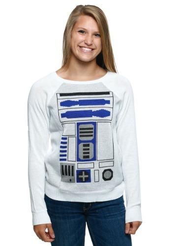 Suéter sencillo R2D2 juvenil