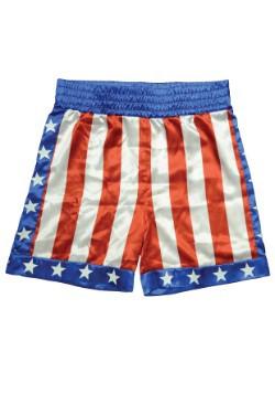 Shorts de boxeo de Apollo Creed para adulto