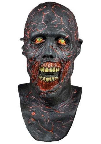 Máscara carbonizada de The Walking Dead