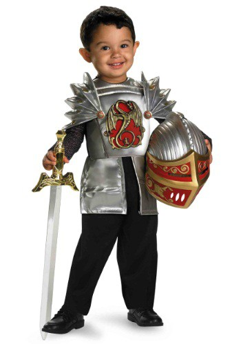 Disfraz de Caballero del Dragón para niños pequeños