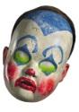 Máscara de muñeco payaso para adulto