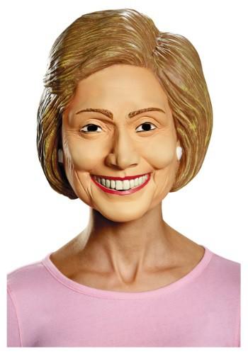 Máscara de lujo de Hillary para adulto