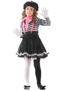 Disfraz infantil de mimo cautivador