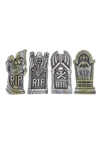 Set de 4 lápidas Boneyard