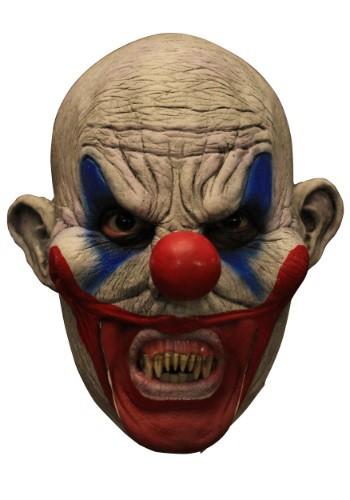 Máscara para adulto de payaso Clooney con dientes