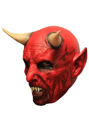 Máscara de demonio con dientes para adulto