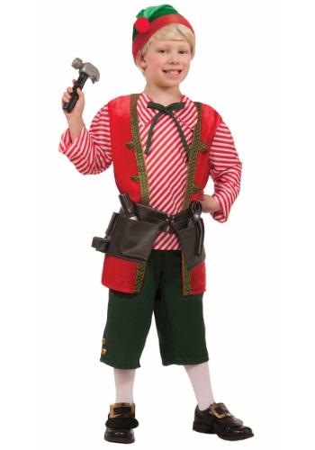 Disfraz de Elfo fabricante de juguetes para niños