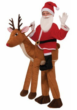 Disfraz infantil de monta un reno