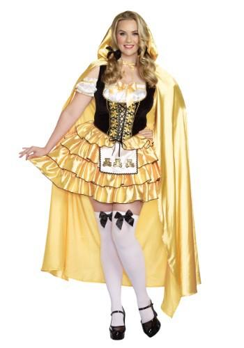 Disfraz para mujer Ricitos de Oro talla extra