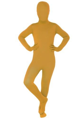 Morphsuit naranja para niños