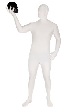 Morphsuit blanco para adulto
