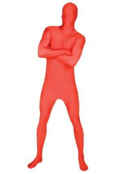 Morphsuit rojo para adulto