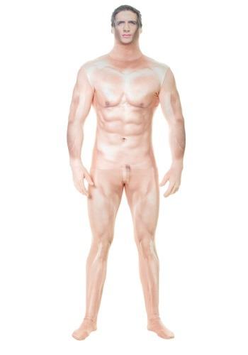 Morphsuit de hombre sexy desnudo Faux Real para adulto