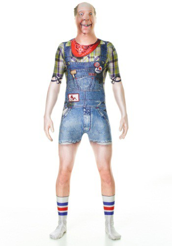 Morphsuit de Hillbilly Faux Real para adulto