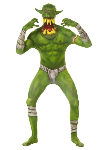 Morphsuit de Orco verde para niños