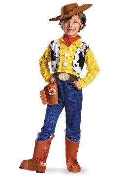 Disfraz infantil de Woody deluxe