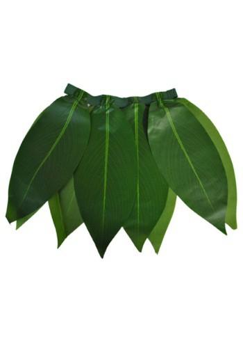 Falda hawaiana de la hoja